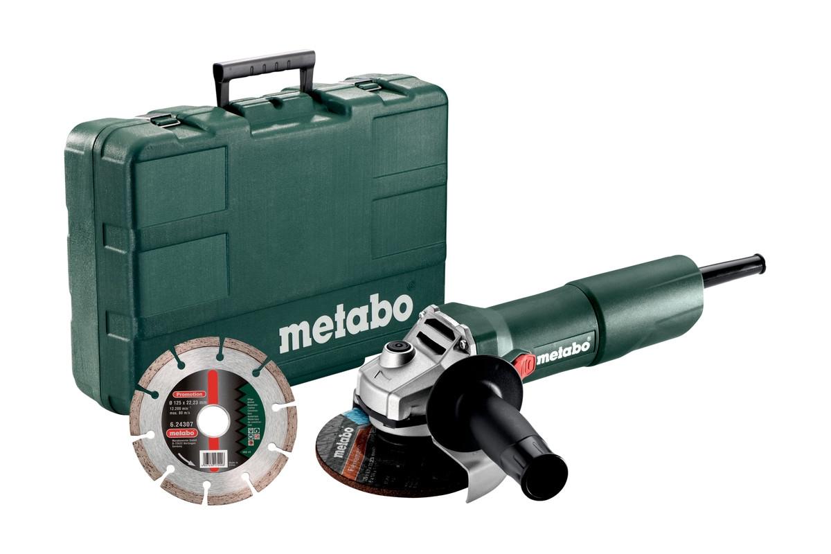 METABO W 750-125 Set