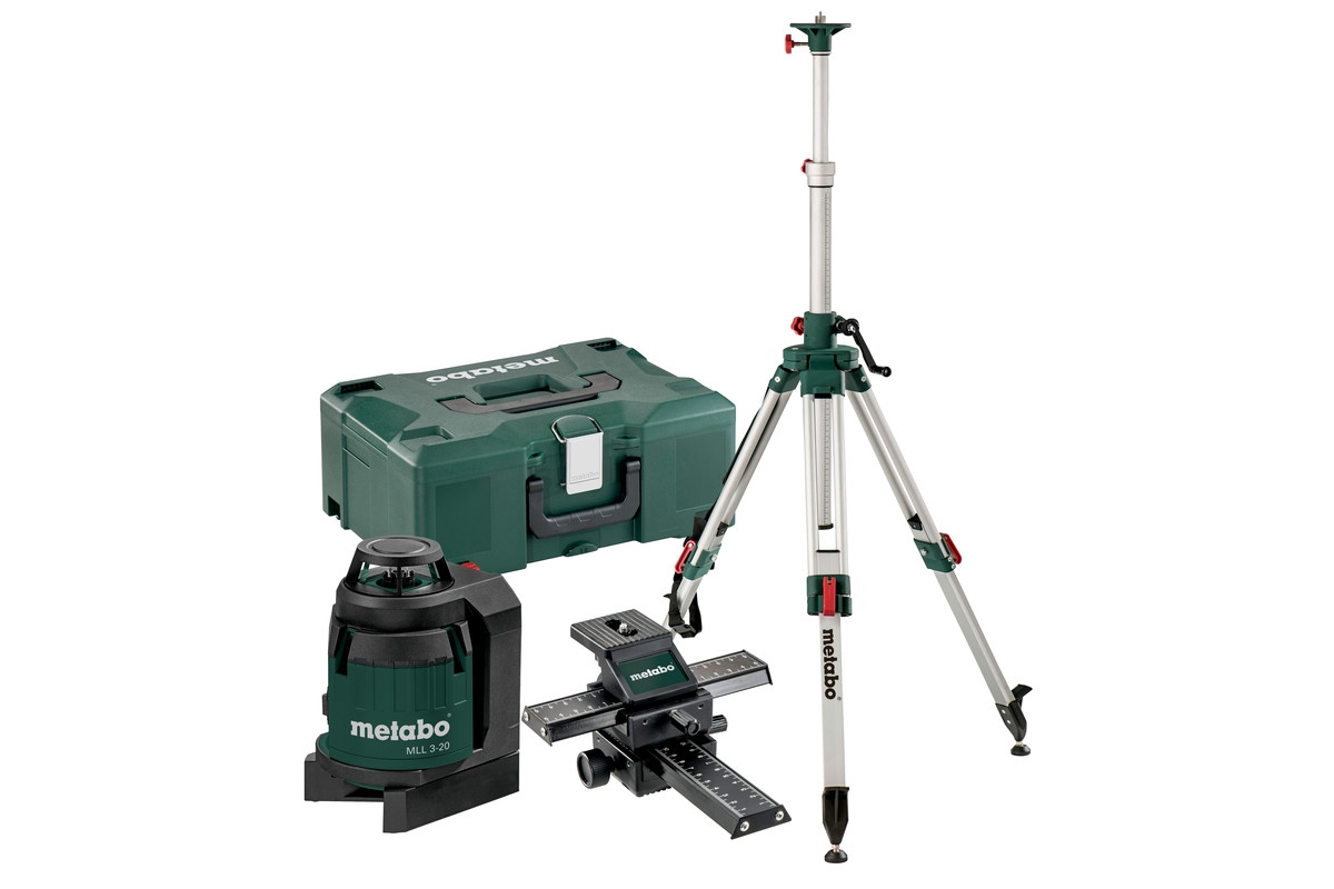 METABO MLL 3-20 Set
