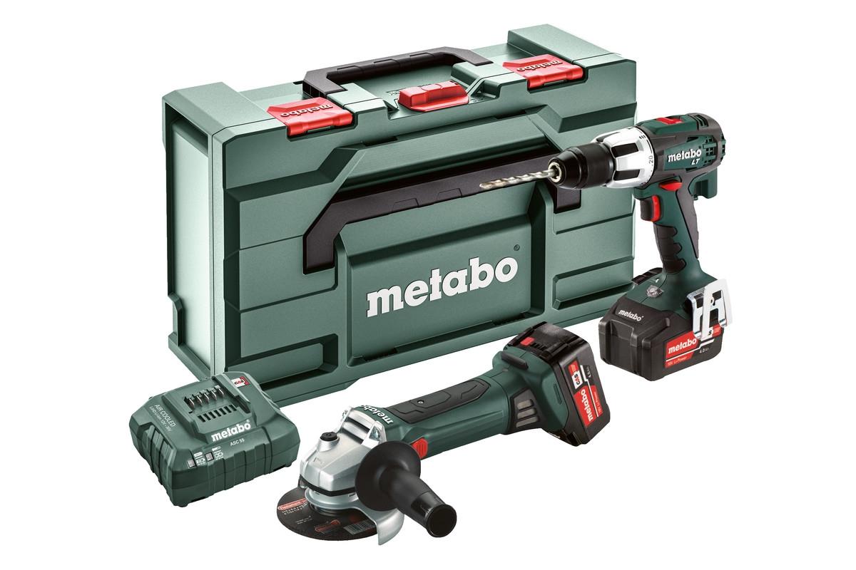 METABO Combo Set 2.4.2 18 V