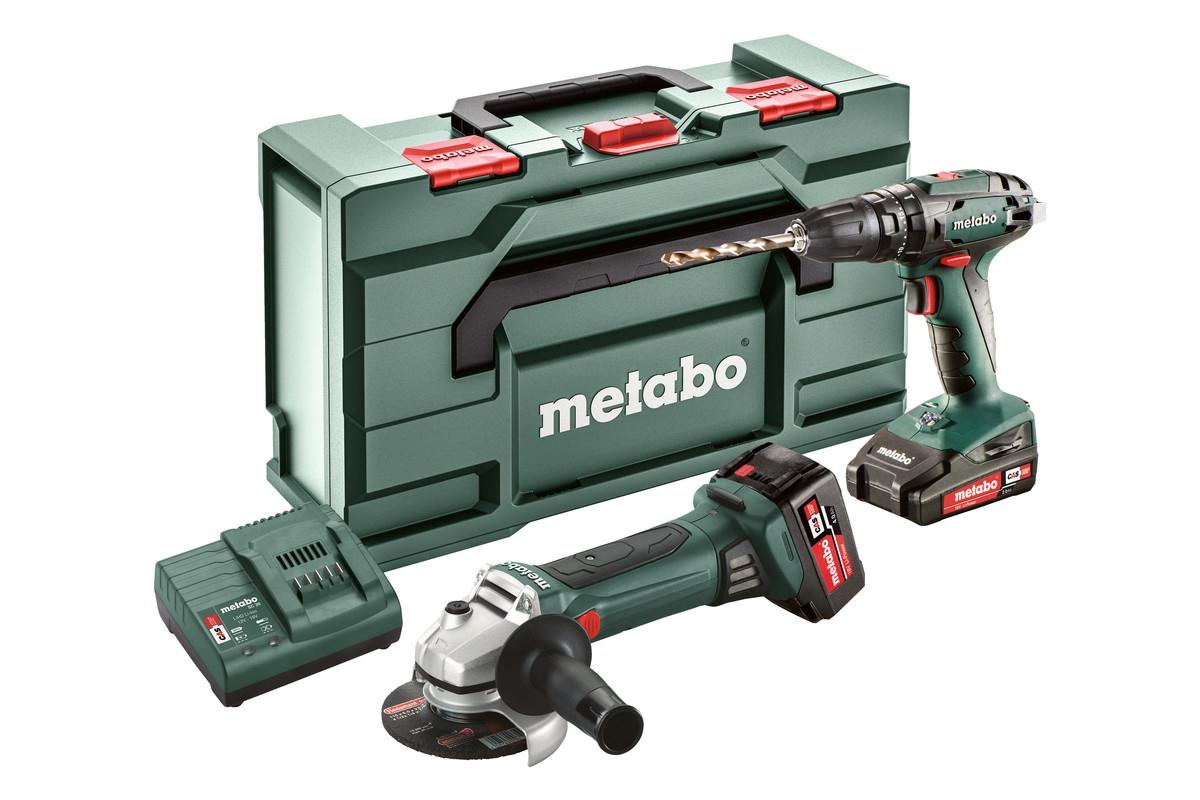 METABO Combo Set 2.4.4 18 V