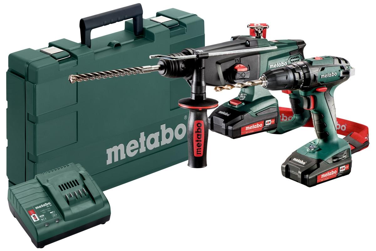 METABO Combo Set 2.3.4 18 V