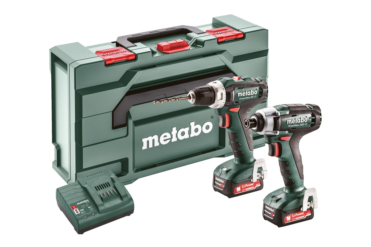 METABO Combo Set 2.7.1 12 V