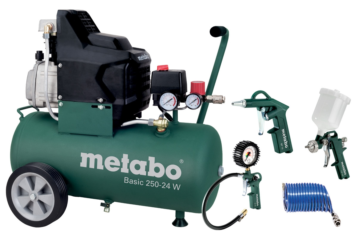 METABO Basic 250-24 W Set