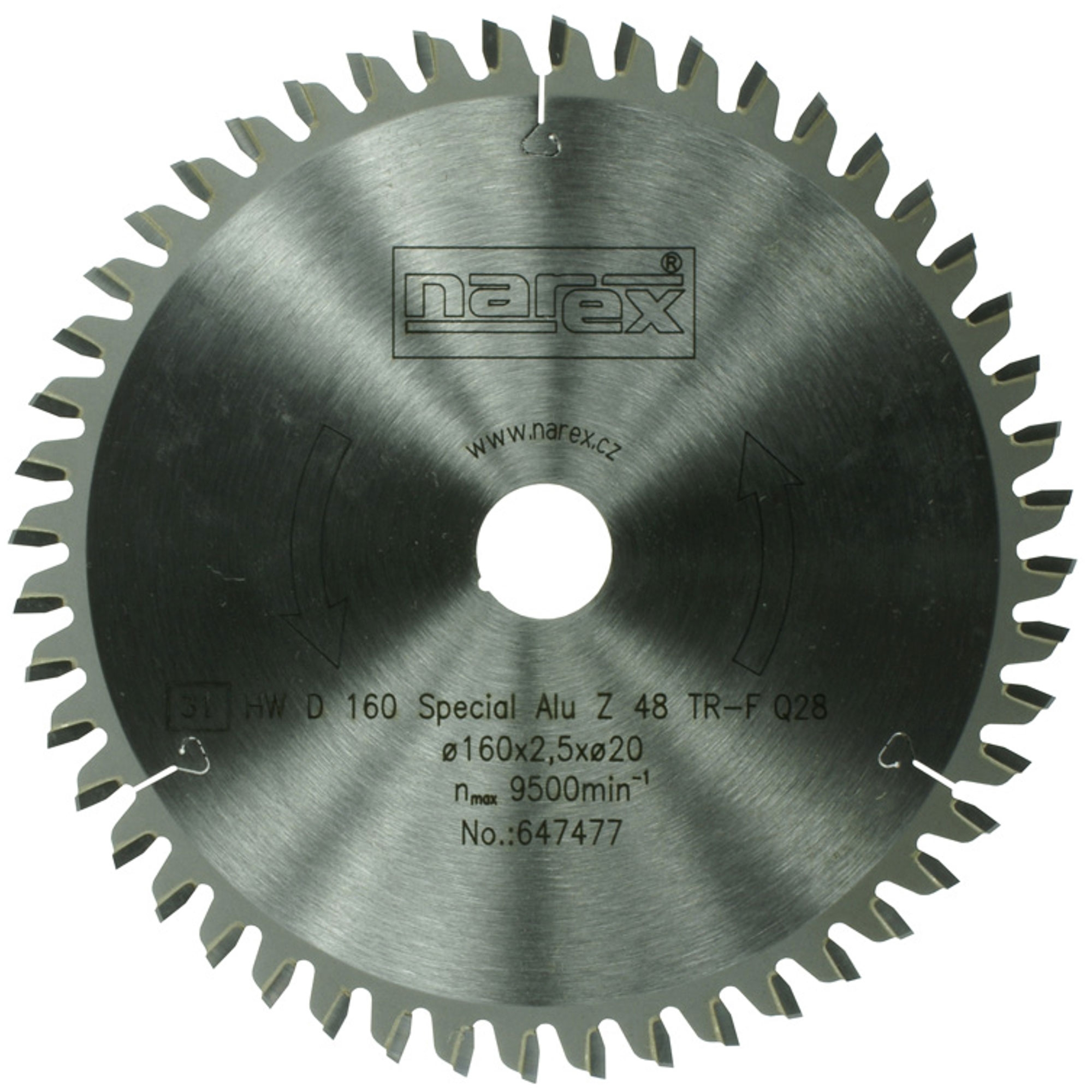 Narex 160×2.2×20 52TFZ -...