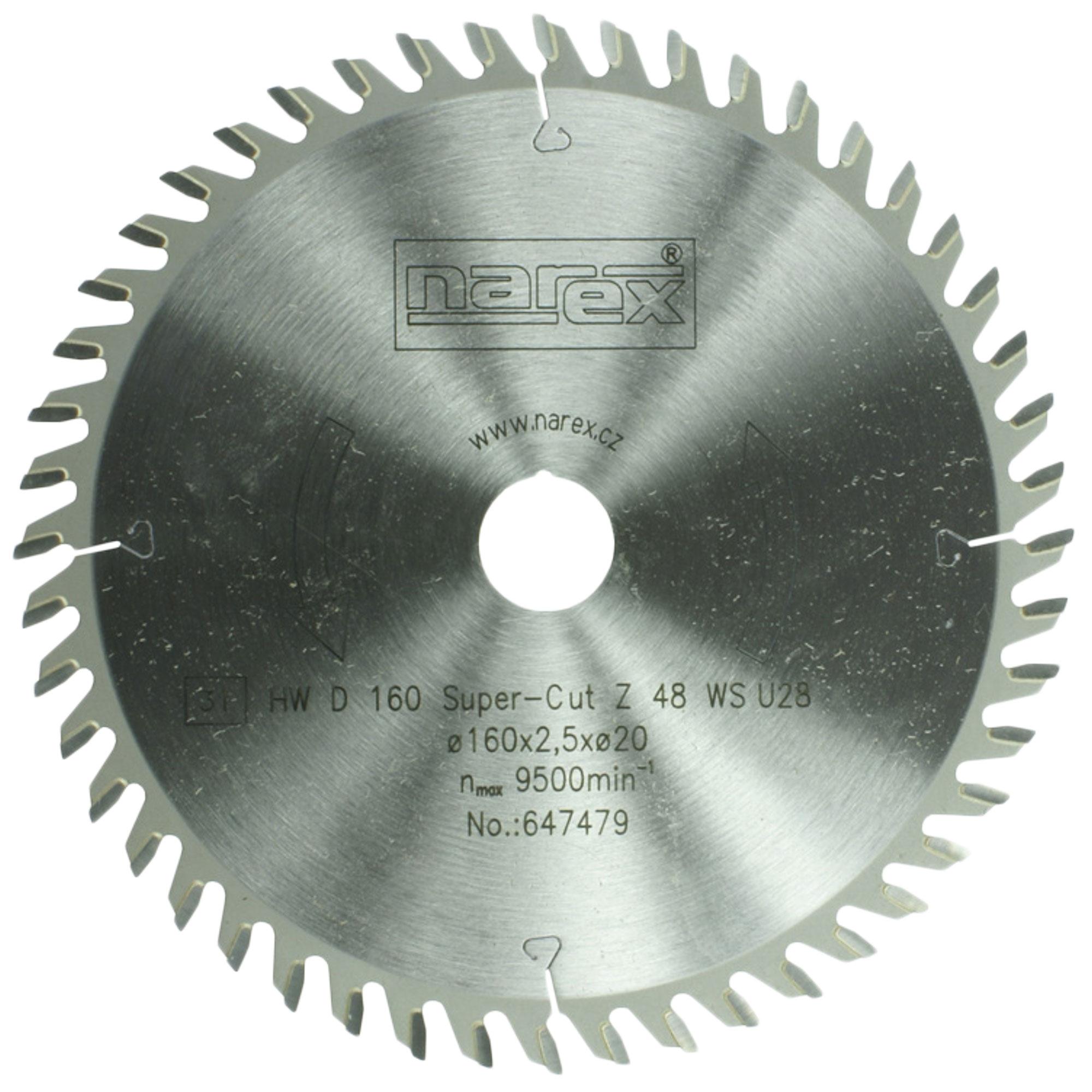 Narex 160×2.2×20 48WZ -...