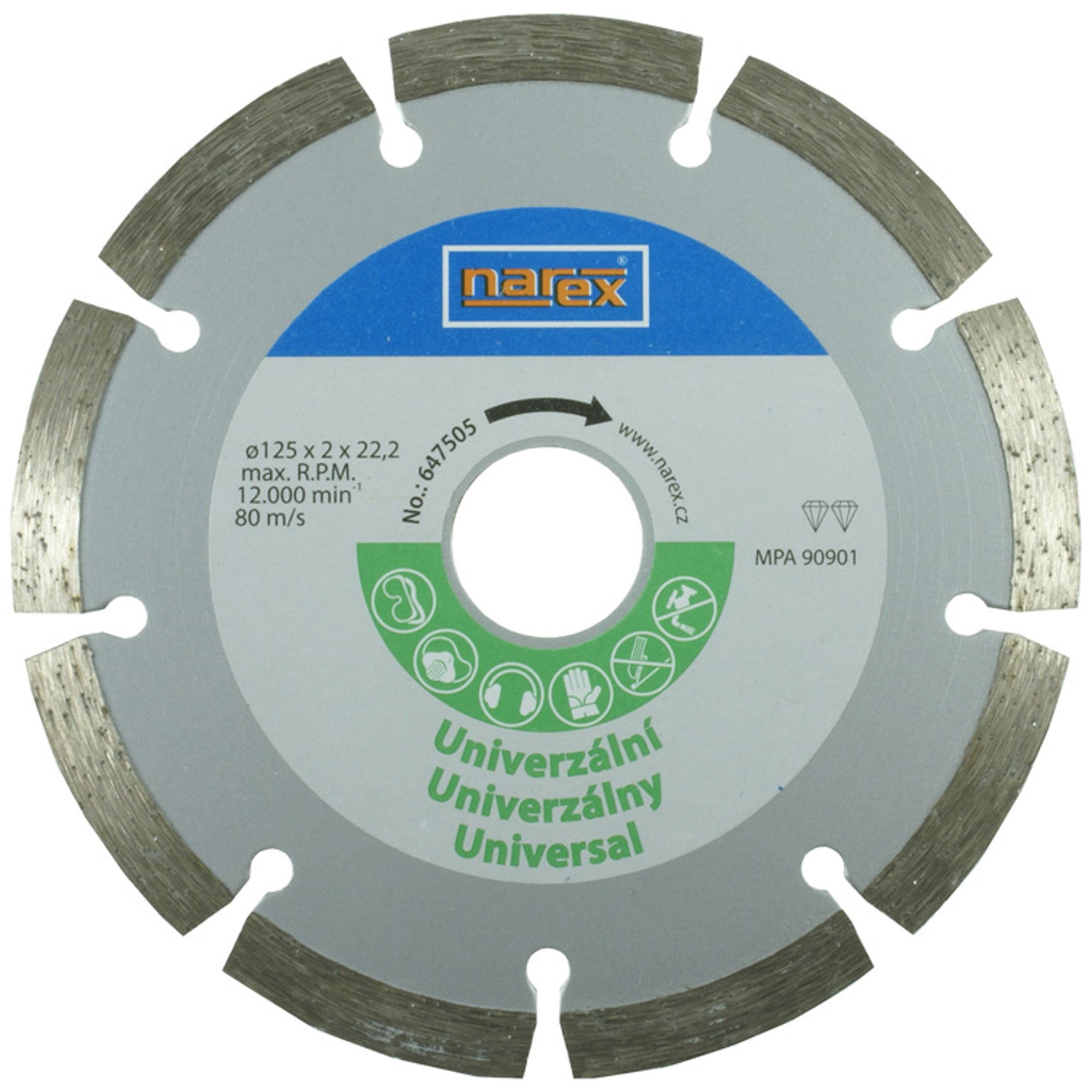 Narex Dia 125 Universal -...