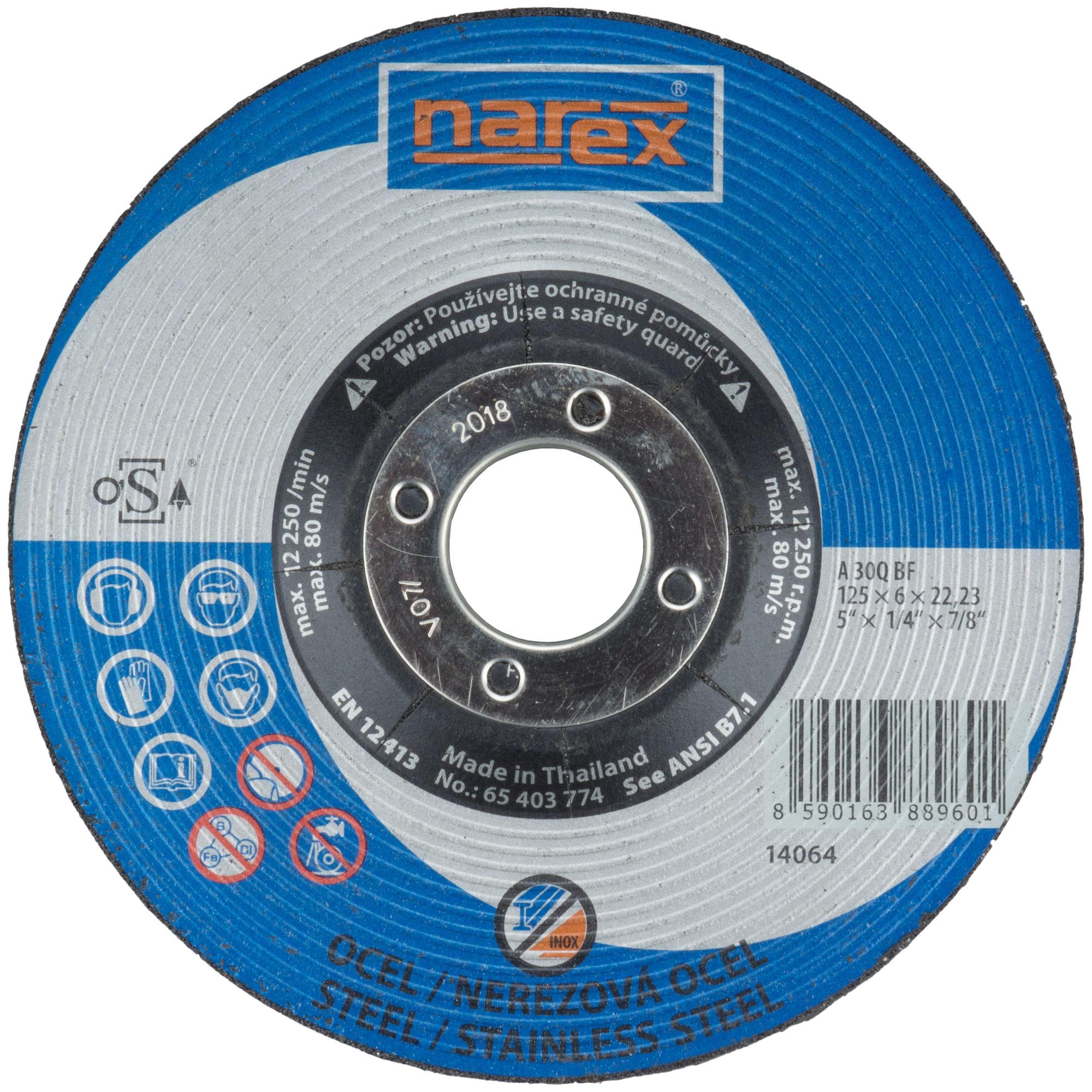 Narex 125×6×22.2 A 30 BF -...