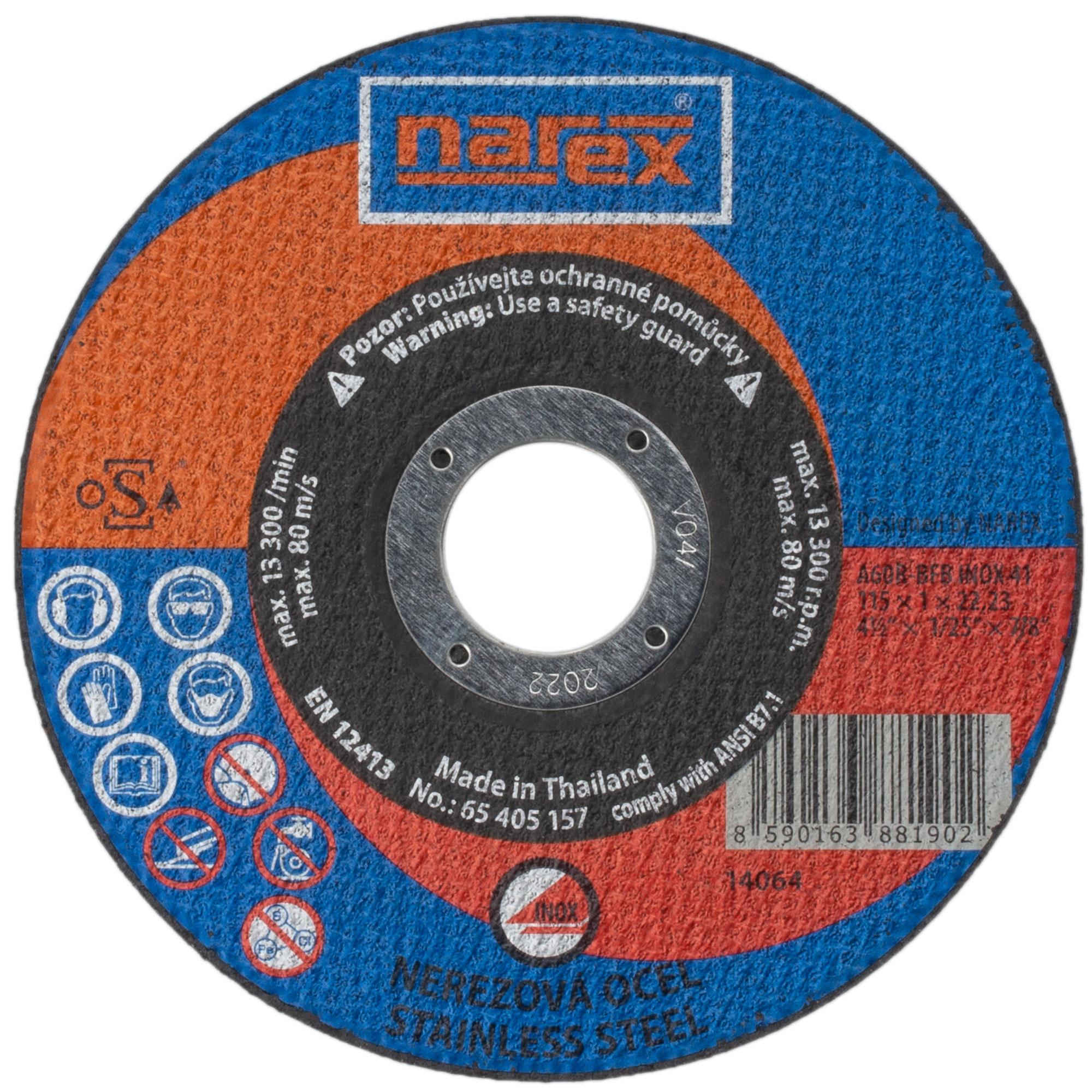 Narex SET RK ø 115×1×22.2 A...