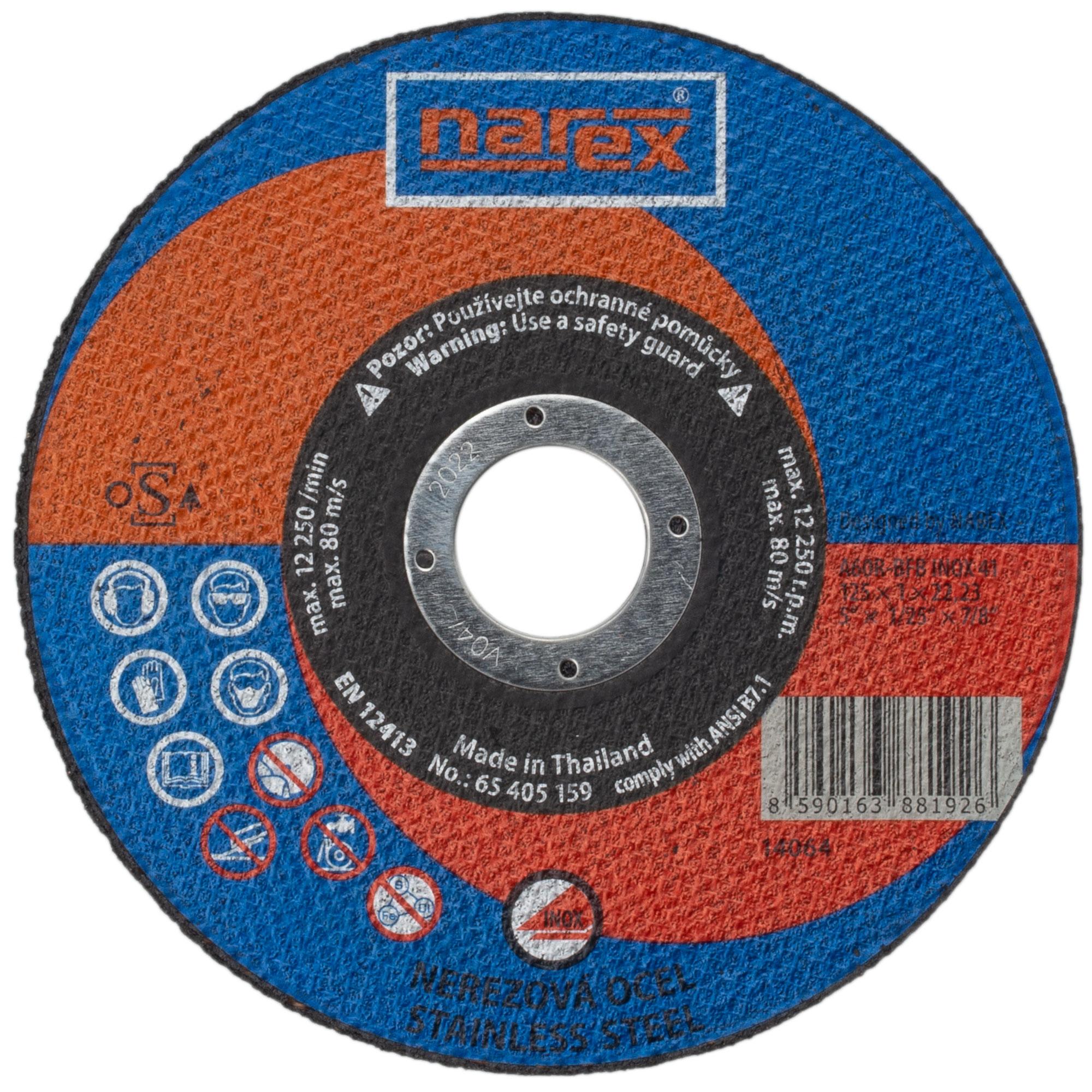 Narex SET RK ø 125×1×22.2 A...