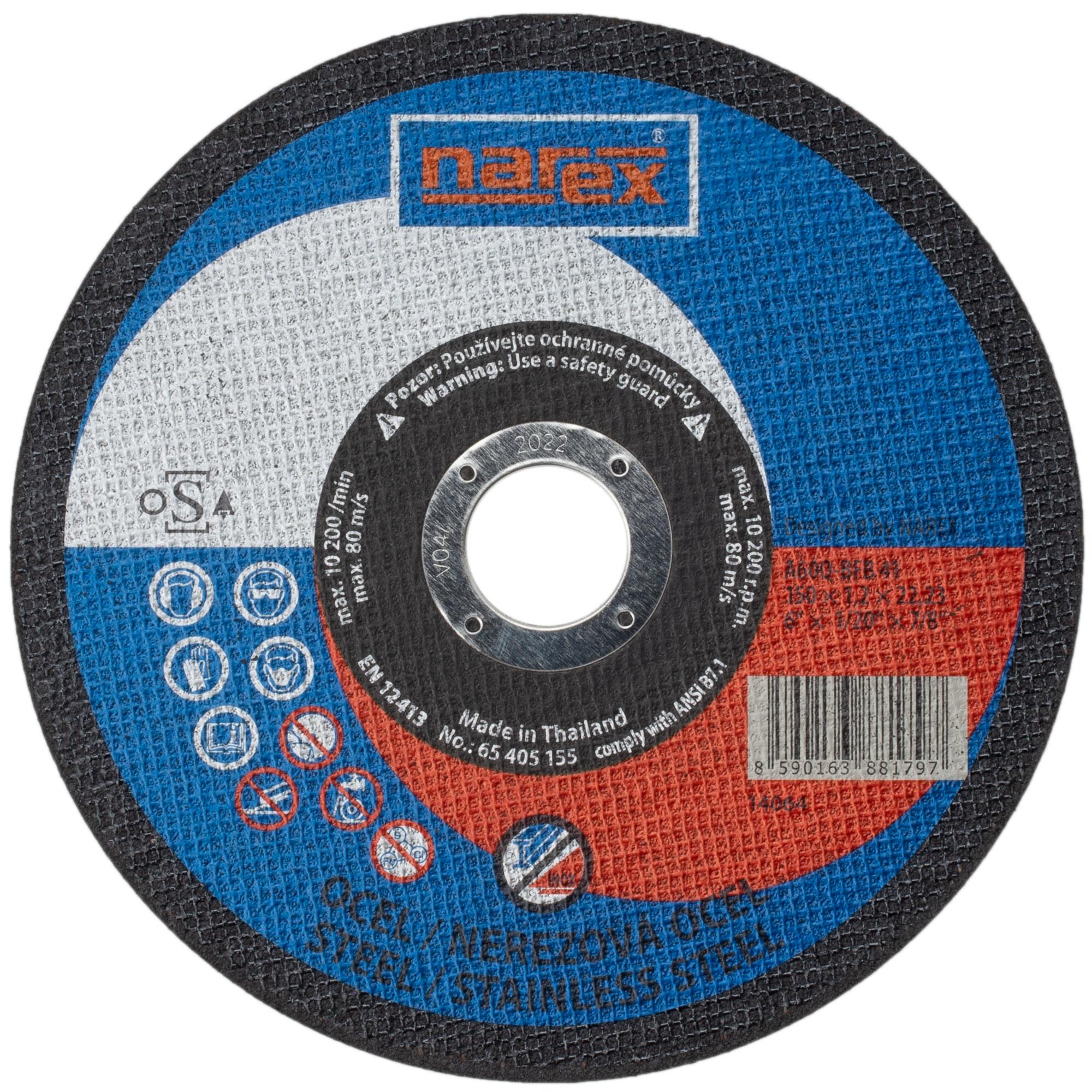 Narex SET RK ø 150×1.2×22.2...