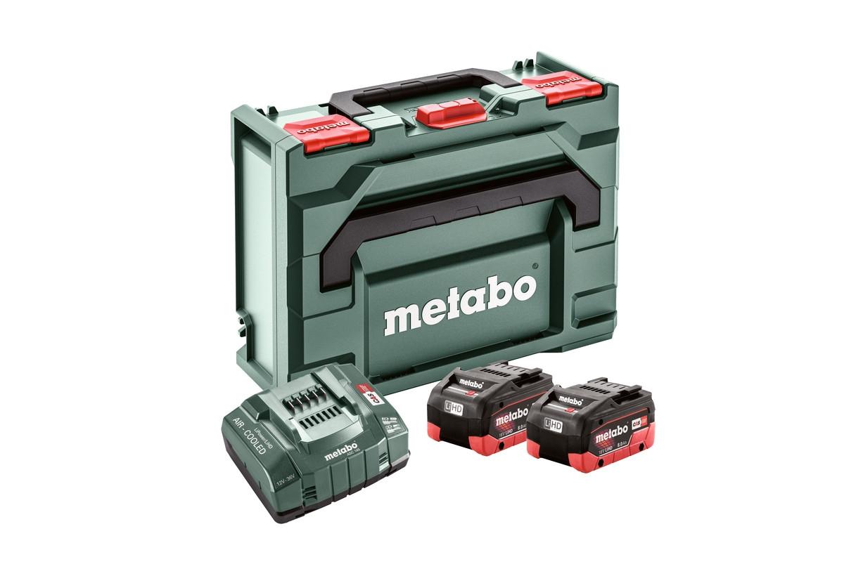 METABO BASIC-SET 2 X LIHD...