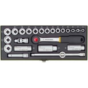 """PROXXON sada nástrčných kľúčov 3/8"""" 24-dielna"""