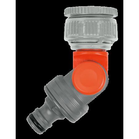 """GARDENA Prípojka výkyvná na vodovodný kohútik 33,3 mm (G 1"""") / 26,5 mm (G 3/4"""")"""