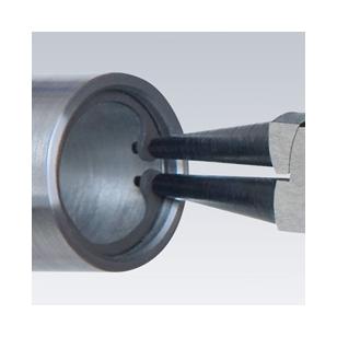 KNIPEX Kliešte na vnútorné poistné krúžky 44 11 J2