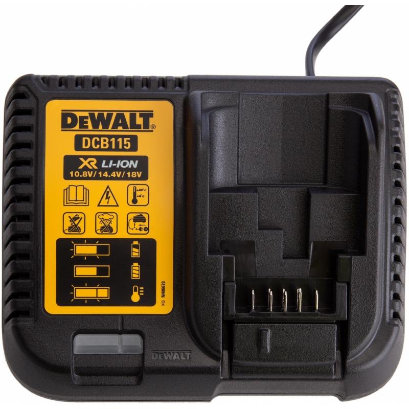 DEWALT XR Nabíjačka pre 10,8 - 18V - 4A DCB115