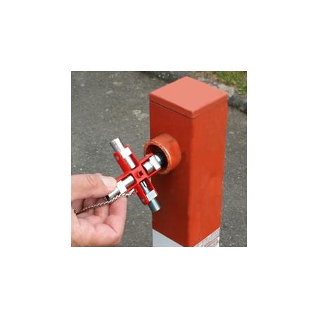 KNIPEX Kľúč univerzálny pre bežné skrine a systémy zamykania 00 11 06