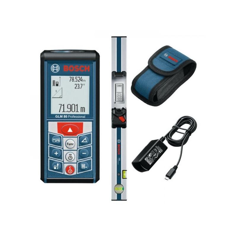 BOSCH Laserový merač vzdialeností GLM 80 + R 60 Professional